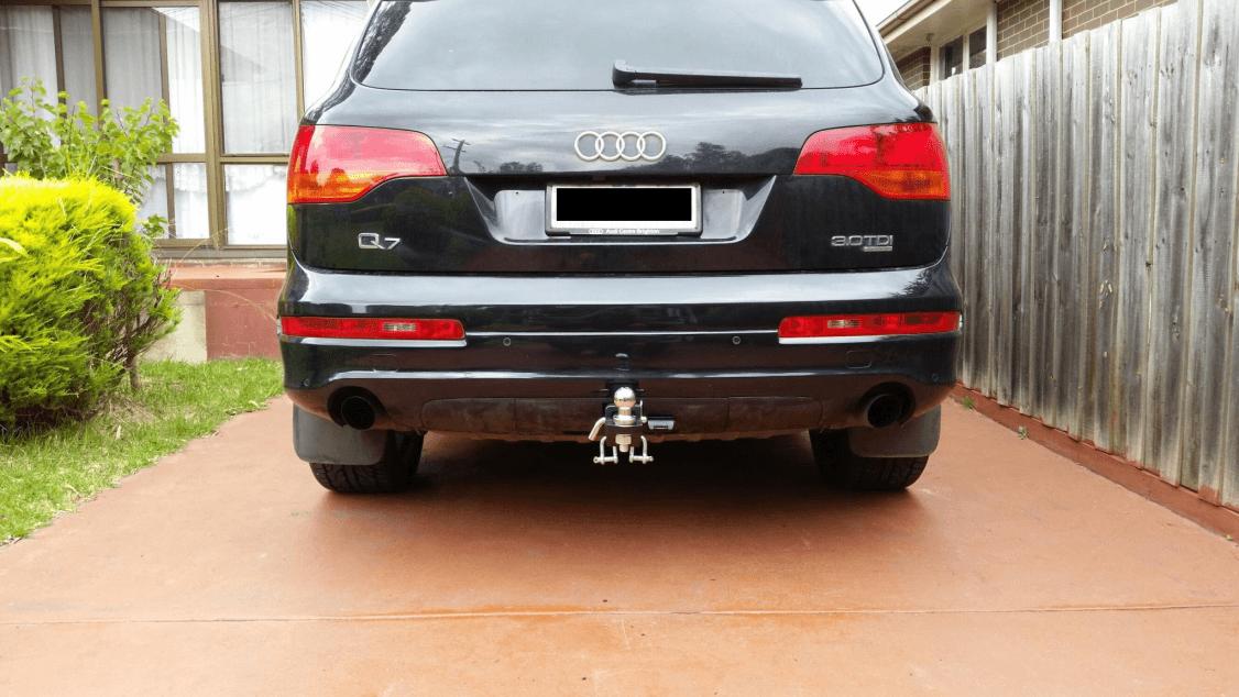 Audi q7 tow bar